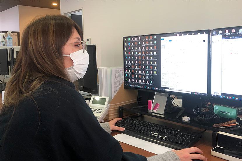 マスク着用の奨励